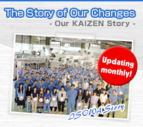 The Story of Our Changes - Our KAIZEN Story