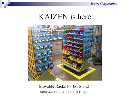 Image Gallery of Kaizen Examples